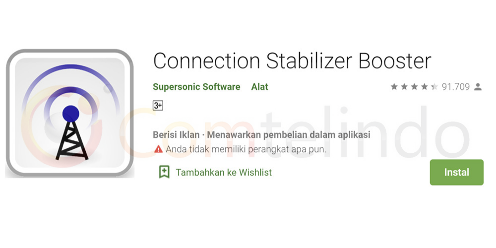 Connection Stabilizer Booster - Comtelindo